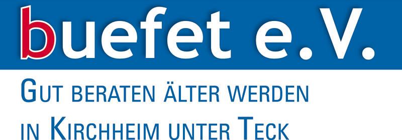 Logo buefet e.V. - Gut beraten älterwerden in Kirchheim unter Teck