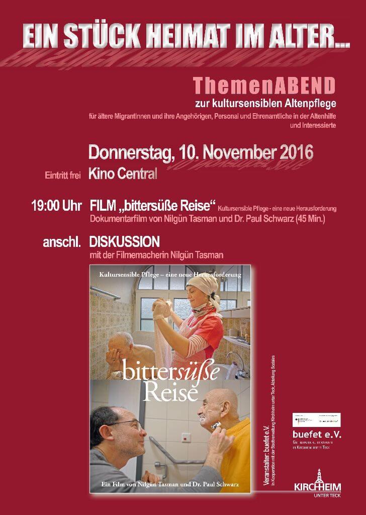Ein Stück Heimat im Alter - Themenabend zur kultursensiblen Altenpflege