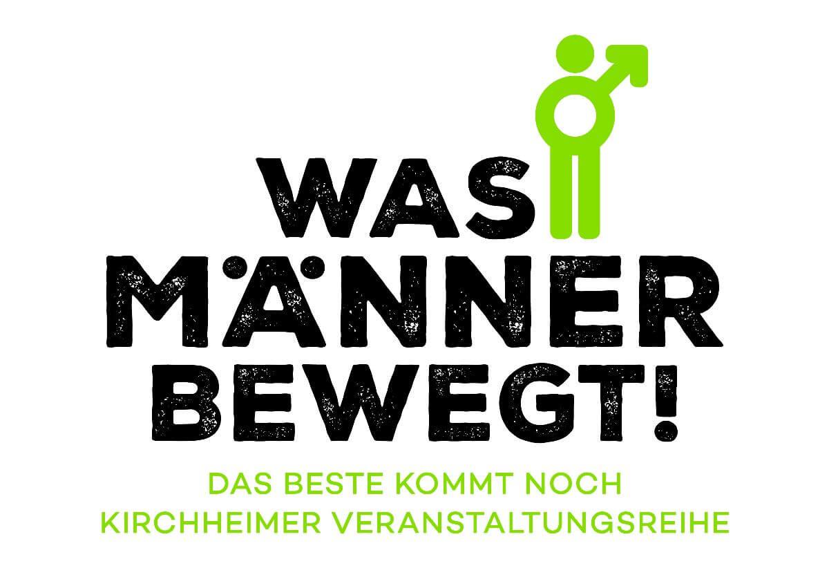 """Logo der Veranstaltungsreihe """"Was Männer bewegt!"""""""